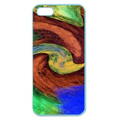 Culture Mix Apple Seamless Iphone 5 Case (color) by dawnsebaughinc