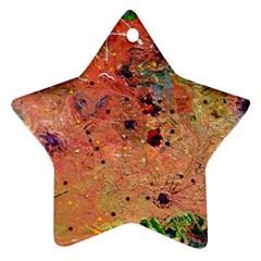 Diversity Ceramic Ornament (star) by dawnsebaughinc
