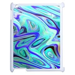 Easy Listening Apple Ipad 2 Case (white) by dawnsebaughinc