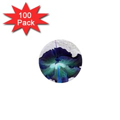 Exotic Hybiscus   100 Pack Mini Magnet (Round)