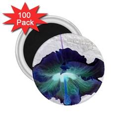 Exotic Hybiscus   100 Pack Regular Magnet (round) by dawnsebaughinc