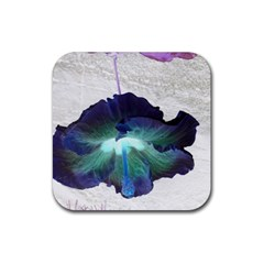 Exotic Hybiscus   4 Pack Rubber Drinks Coaster (square) by dawnsebaughinc