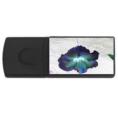 Exotic Hybiscus   4gb Usb Flash Drive (rectangle) by dawnsebaughinc