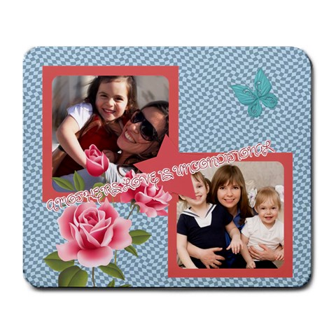 Mothers Day By Mom   Large Mousepad   Puh1mghsnaxw   Www Artscow Com Front