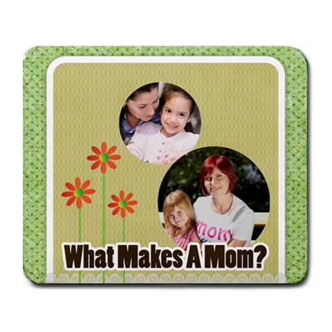 Mothers Day By Mom   Collage Mousepad   0lcqcqdml1ba   Www Artscow Com 9.25 x7.75 Mousepad - 1