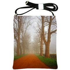 Foggy Morning, Oxford Cross Shoulder Sling Bag by artposters