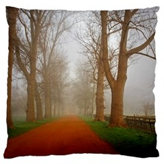 Foggy Morning, Oxford Large Cushion Case (two Sides) by artposters