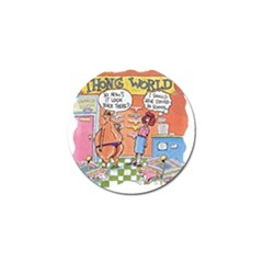 Thong World 10 Pack Golf Ball Marker by mikestoons
