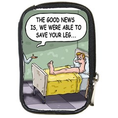 The Good News Is     Digital Camera Case by mikestoons
