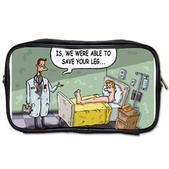 The Good News Is     Twin Sided Personal Care Bag by mikestoons