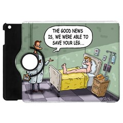 The Good News Is     Apple Ipad Mini Flip 360 Case by mikestoons
