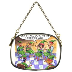 Elf Help Group Single Sided Evening Purse by mikestoons