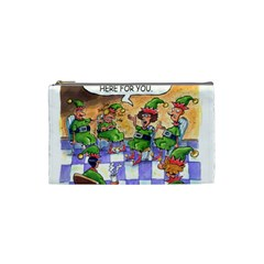 Elf Help Group Small Makeup Purse by mikestoons