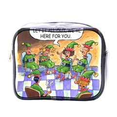 Elf Help Group Single Sided Cosmetic Case by mikestoons