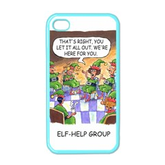 Elf Help Group Apple Iphone 4 Case (color) by mikestoons