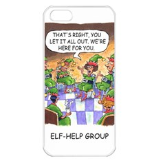 Elf Help Group Apple Iphone 5 Seamless Case (white) by mikestoons