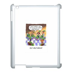 Elf Help Group Apple Ipad 3/4 Case (white) by mikestoons