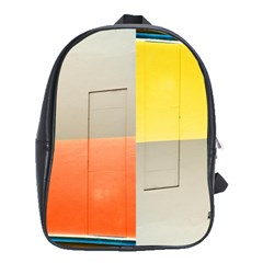 Geometry Large School Backpack by artposters