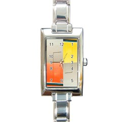 Geometry Classic Elegant Ladies Watch (rectangle) by artposters