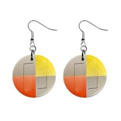 Geometry Mini Button Earrings by artposters