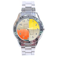 Geometry Stainless Steel Analogue Watch (round)
