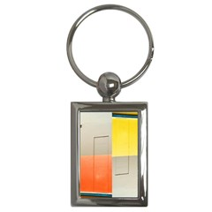 Geometry Key Chain (rectangle) by artposters