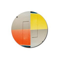 Geometry Rubber Drinks Coaster (round) by artposters