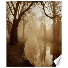 Misty Morning 8  X 10  Unframed Canvas Print