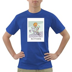 Multitasking Clown Colored Mens'' T Shirt by mikestoons