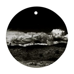Landscape, Corsica Twin Sided Ceramic Ornament (round) by artposters