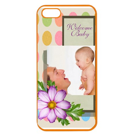Baby By Baby   Apple Seamless Iphone 5 Case (color)   Vlbp2ctttan3   Www Artscow Com Front