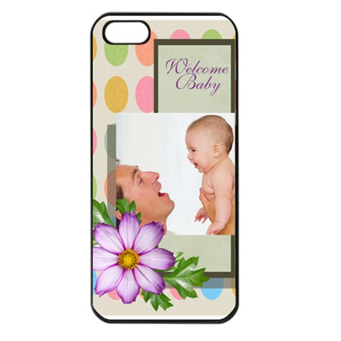 Baby By Baby   Apple Iphone 5 Seamless Case (black)   Imk55p9mj2sc   Www Artscow Com Front