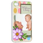 baby - Apple iPhone 4/4s Seamless Case (White)