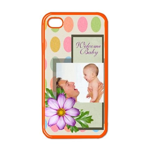Baby By Baby   Apple Iphone 4 Case (color)   054qpqv2wrig   Www Artscow Com Front