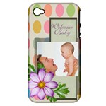 baby - Apple iPhone 4/4S Hardshell Case (PC+Silicone)