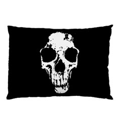 Fragmented Skull Pillow Case Pillow Case (Two Sides) by DarkImage