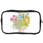Vase Of Flowers Toiletries Bag (Two Sides)