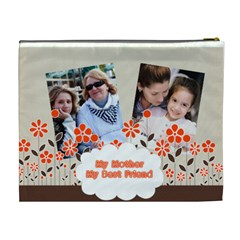 Mothers Day By Mom   Cosmetic Bag (xl)   M2kk5c5omg76   Www Artscow Com Back