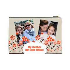 Mothers Day By Mom   Cosmetic Bag (large)   Ikg4lh2kdicw   Www Artscow Com Back