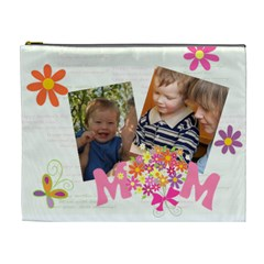 Mothers Day By Divad Brown   Cosmetic Bag (xl)   Pkpxtwsss8in   Www Artscow Com Front