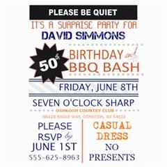 Surprise Birthday Invitation By Lana Laflen   5  X 7  Photo Cards   2j5lxxqk7umw   Www Artscow Com 7 x5 Photo Card - 9