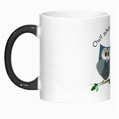 Owl Always Love You, Cute Owls Morph Mug by DigitalArtDesgins