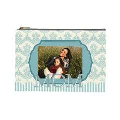 Mothers Day By Mom   Cosmetic Bag (large)   Iu020ovcu4ur   Www Artscow Com Front