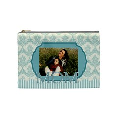 Mothers Day By Mom   Cosmetic Bag (medium)   Wubbklakhnzg   Www Artscow Com Front