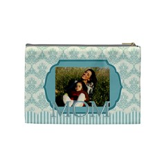 Mothers Day By Mom   Cosmetic Bag (medium)   Wubbklakhnzg   Www Artscow Com Back