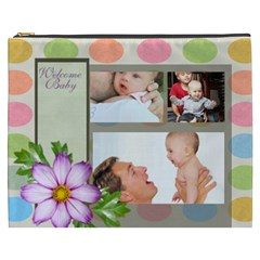 Baby By Baby   Cosmetic Bag (xxxl)   Mkgaabmcgld6   Www Artscow Com Front