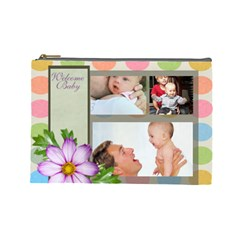 Baby By Baby   Cosmetic Bag (large)   Son001ao5a0m   Www Artscow Com Front