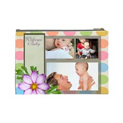 Baby By Baby   Cosmetic Bag (large)   Son001ao5a0m   Www Artscow Com Back