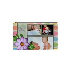 Baby By Baby   Cosmetic Bag (small)   Ddyn3acxtikb   Www Artscow Com Front