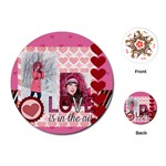 love - Playing Cards (Round)